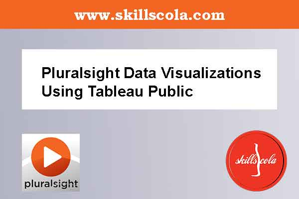 Pluralsight Data Visualizations Using Tableau Public