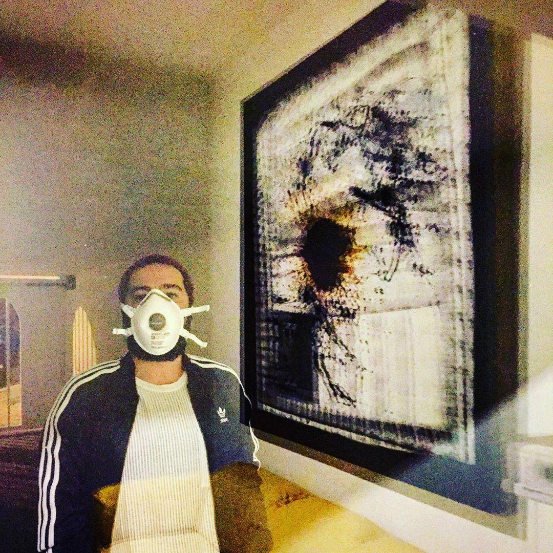 عکس متفاوت نوید محمد زاده به مناسبت تولد 32 سالگیش