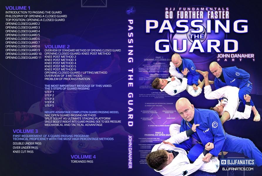 دانلود بسته ی اموزشی جوجیتسو : Go Further Faster: Passing the Guard by John Danaher