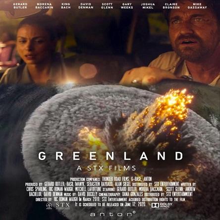 فیلم گرینلند - Greenland 2020
