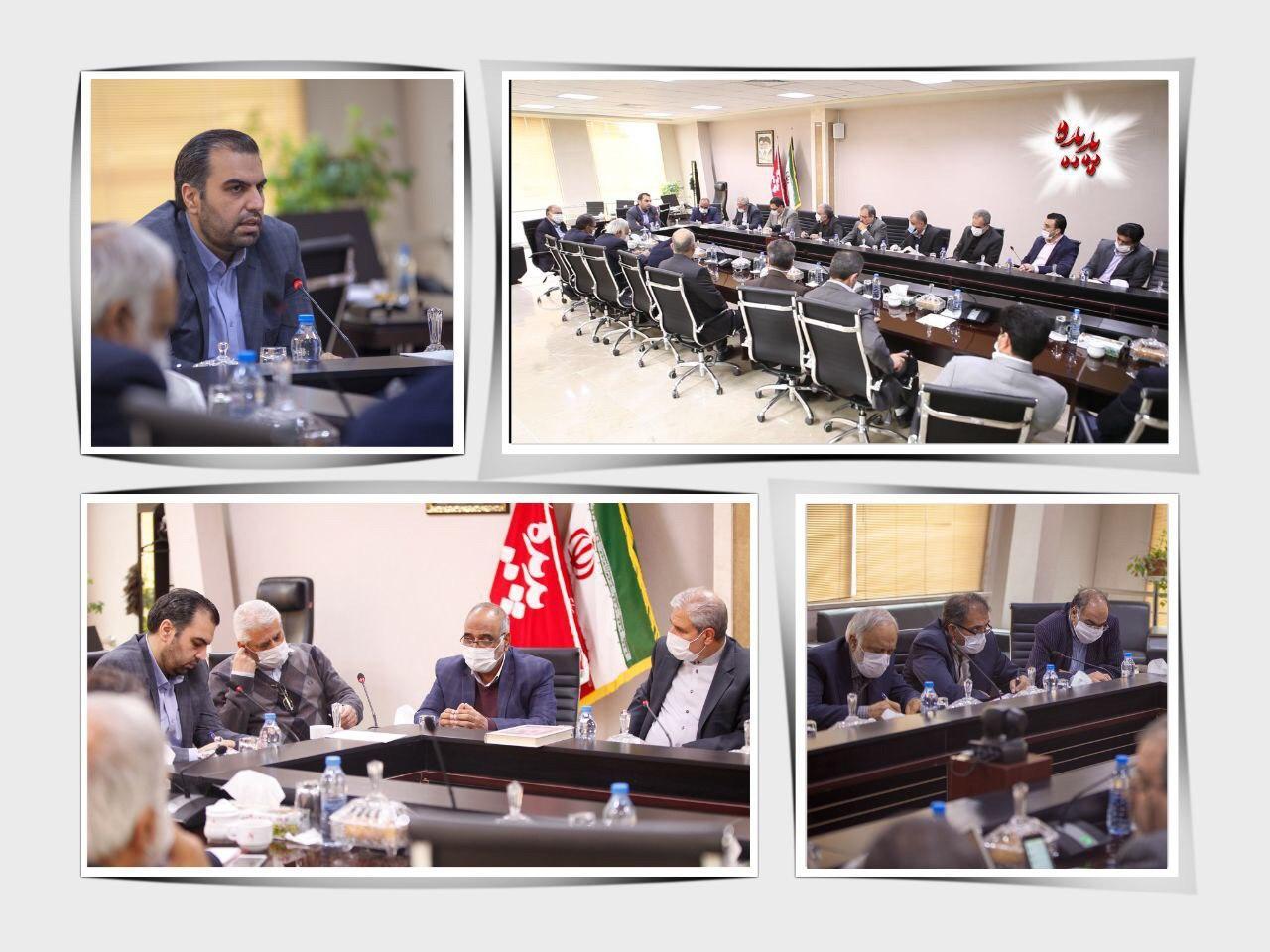 نخستین جلسه شورای مدیران پدیده شاندیز برگزار شد