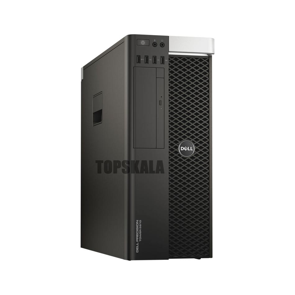 کامپیوتر استوک Dell T5810 WorkStation ورک استیشن - پردازنده Intel Xeon E5 1650 V4 به همراه گرافیک Amd FirePro W7100 8GB DDR5