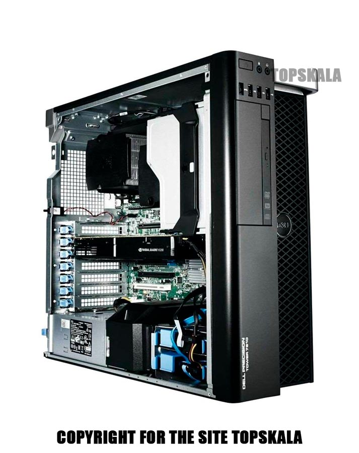 کامپیوتر استوک دل مدل Dell T7810 WorkStation با مشخصات Intel Xeon E5 2695 V3-RAM 64GB-2TB HDD 1TB SSD-GPU 4GB nVidia Quadro P1000PC-Desktop-Dell-T7810-WorkStation-Intel-Xeon-E5-2695-V3-RAM-64GB-2TB-HDD-1TB-SSD-GPU-4GB-nVidia-Quadro-P1000