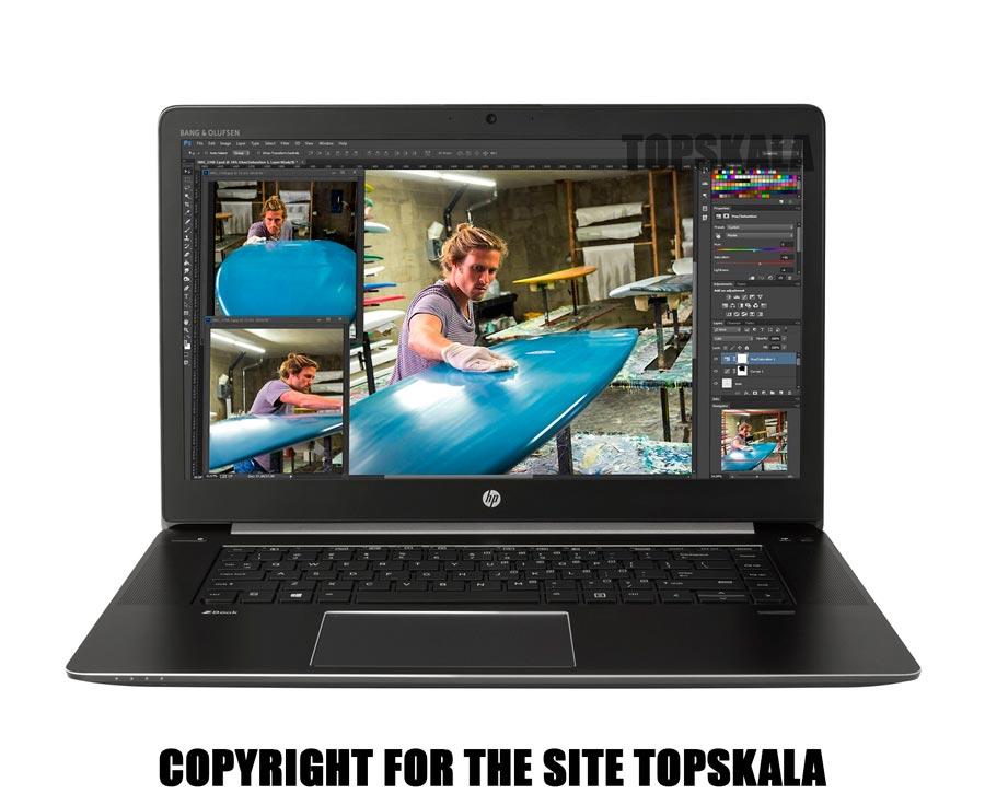 لپ تاپ استوک اچ پی مدل HP ZBOOK 15 G3 پردازنده i7 6700HQ گرافیک Nvidia Quadro M2000M
