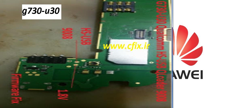 U062a U0633 U062a  U067e U0648 U06cc U0646 U062a  U0647 U0648 U0622 U0648 U06cc Test Point Huawei G730-u30