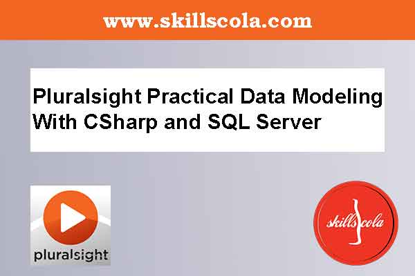 Pluralsight Practical Data Modeling