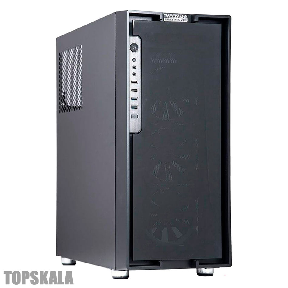 کامپیوتر آکبند HERO Z6 گیمینگ - پردازنده intel Core i5-9700F به همراه 8 گیگابایت گرافیک GTX 1080Ti Msi Gaming X