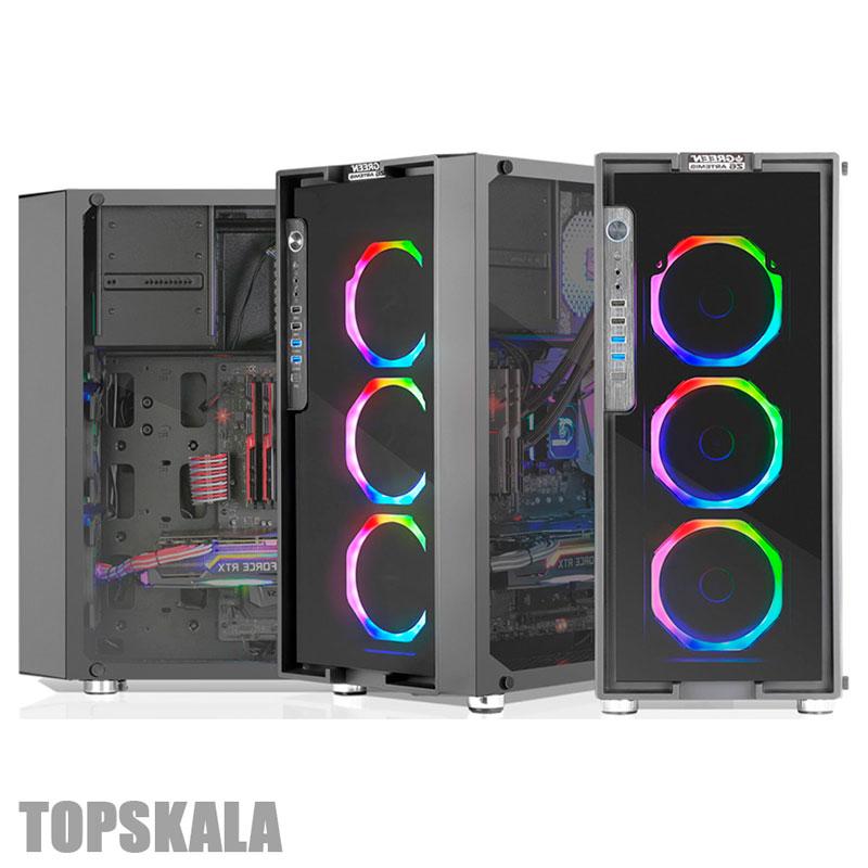 کامپیوتر آکبند مدل HERO Z6 با مشخصات Intel i5 9700F-RAM 16GB-HARD 1TB HDD + 128GB SSD-GPU 11GB nVidia GTX 1080Ti Msi Gaming XPC-Desktop-Gaming-Hero-Z6-Intel-i5-9700F-RAM-16GB-HARD-1TB-HDD-128GB-SSD-GPU-11GB-nVidia-GTX-1080Ti-Msi-Gaming-X