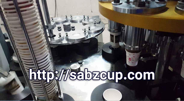 مراحل تولید لیوان کاغذی