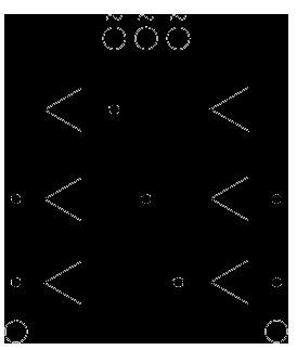 نمودار فنی پل دیود سه فاز