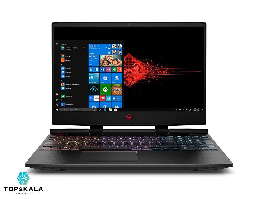لپ تاپ استوک اچ پی مدل HP OMEN Gaming 15X با مشخصات intel Core i7 9750H - NVIDIA GTX 1650 دارای مهلت تست و گارانتی رایگان/ محصول HP