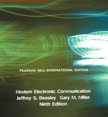 حل المسائل کتاب ارتباطات الکترونیکی مدرن جفری بیزلی ویرایش نهم JEFFREY BEASLEY