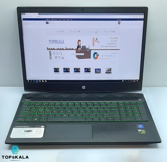لپ تاپ آکبند اچ پی مدل HP Pavilion Gaming 15