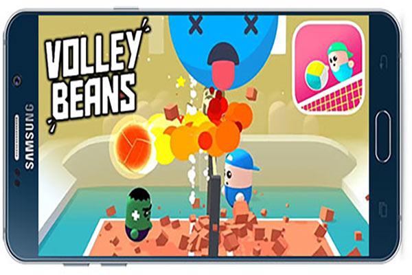 دانلود بازی اندروید لوبیای والیبالیست Volley Beans