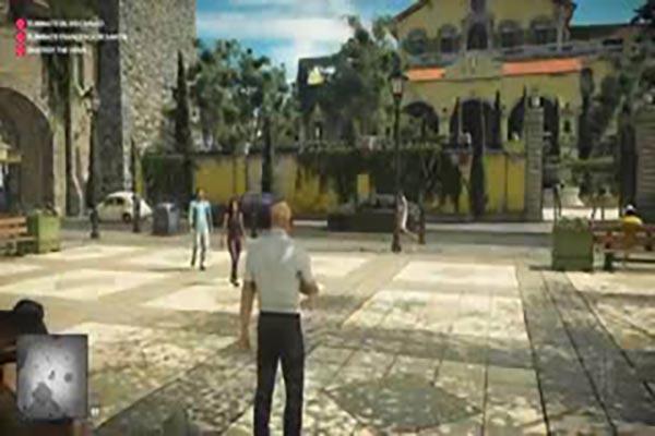 Hitman VR Gameplay