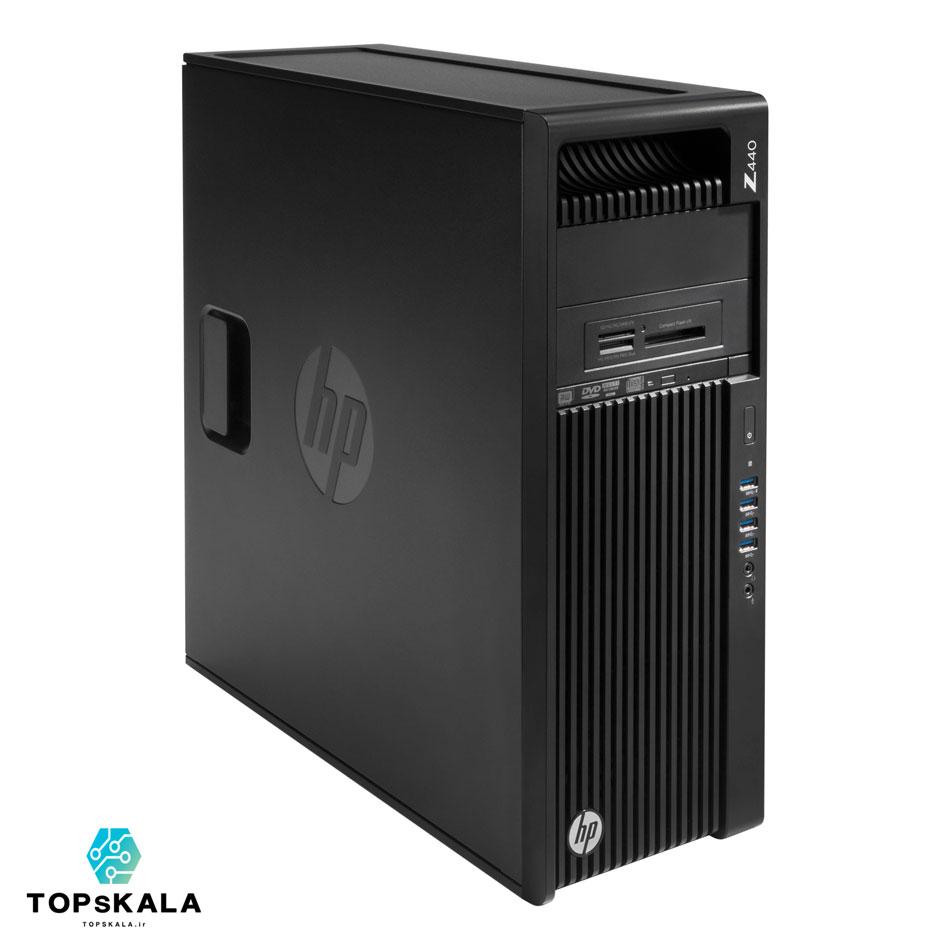 خرید کامپیوتر استوک اچ پی مدل HP Z440 WorkStation با مشخصات پردازنده Intel Xeon E5 2620 V3 و گرافیک nVidia Quadro k4000 دارای مهلت تست و گارانتی رایگان - محصول HP