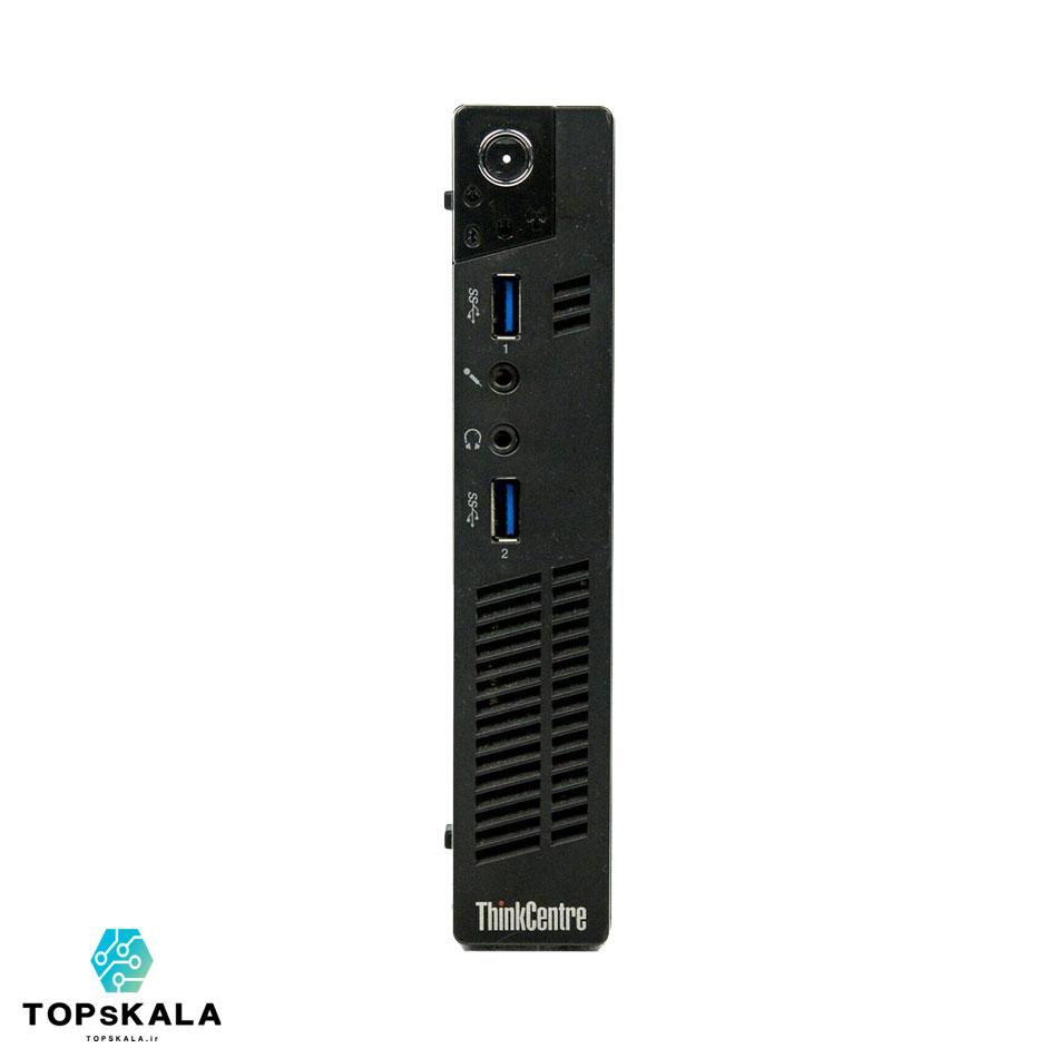 کامپیوتر میکرو استوک لنوو مدل Lenovo M93P Tiny - پردازنده Core i5 4570T با گرافیک intel HD