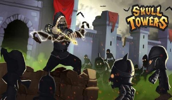 """دانلود Skull Towers – بازی برج دفاعی فوق العاده """"برج اسکلت ها"""" اندروید"""