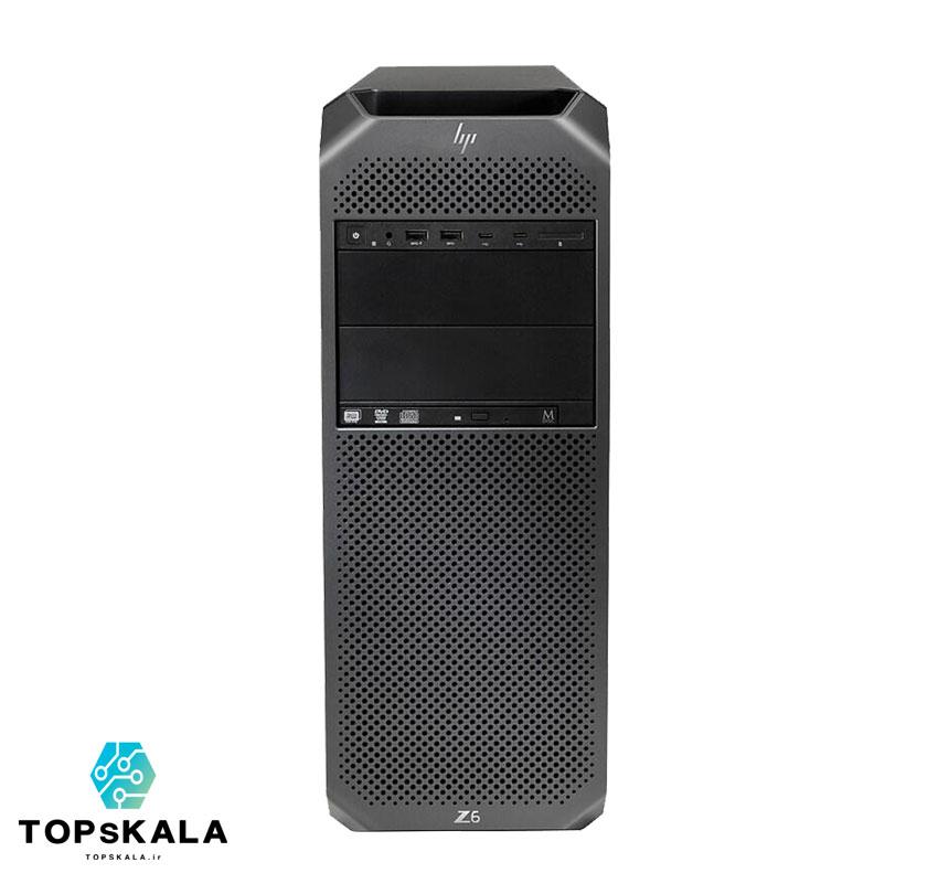 کامپیوتر آکبند اچ پی مدل HP Z6 G4 WorkStation - پردازنده intel Xeon Platinum 8173M با گرافیک nVidia Quadro P4000