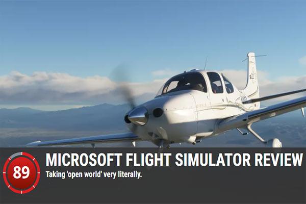 MICROSOFT FLIGHT SIMULATOR REVIEW